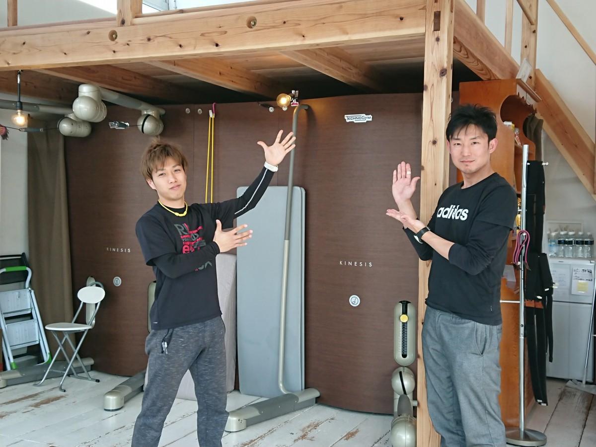 「RELI.STYLE」田中大樹店長(左)と船津脩平社長(右)