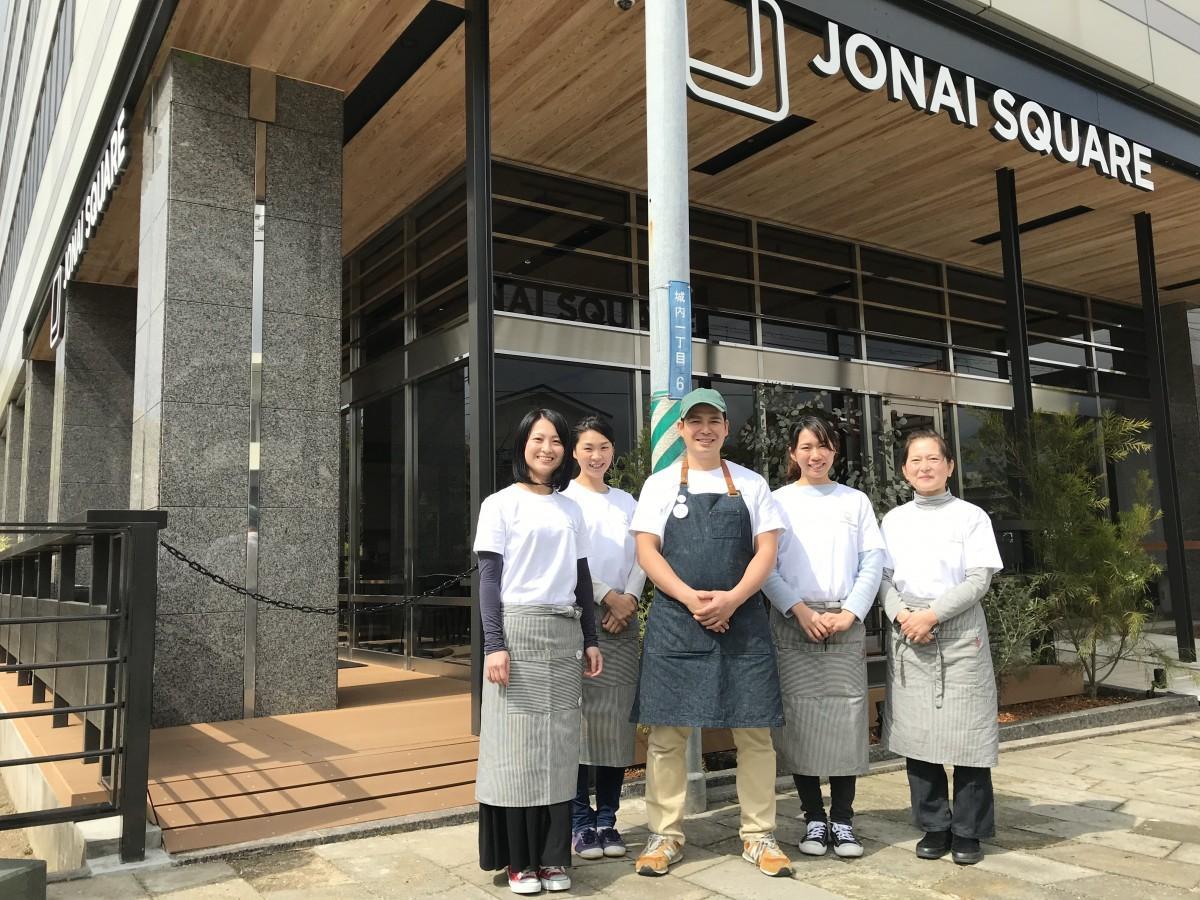 「JONAI SQUARE CAFE」スタッフ