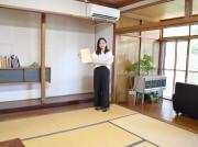 シェアスペース「あそびとまなび部屋」で利用を呼びかけるオーナーの吉田誌子さん