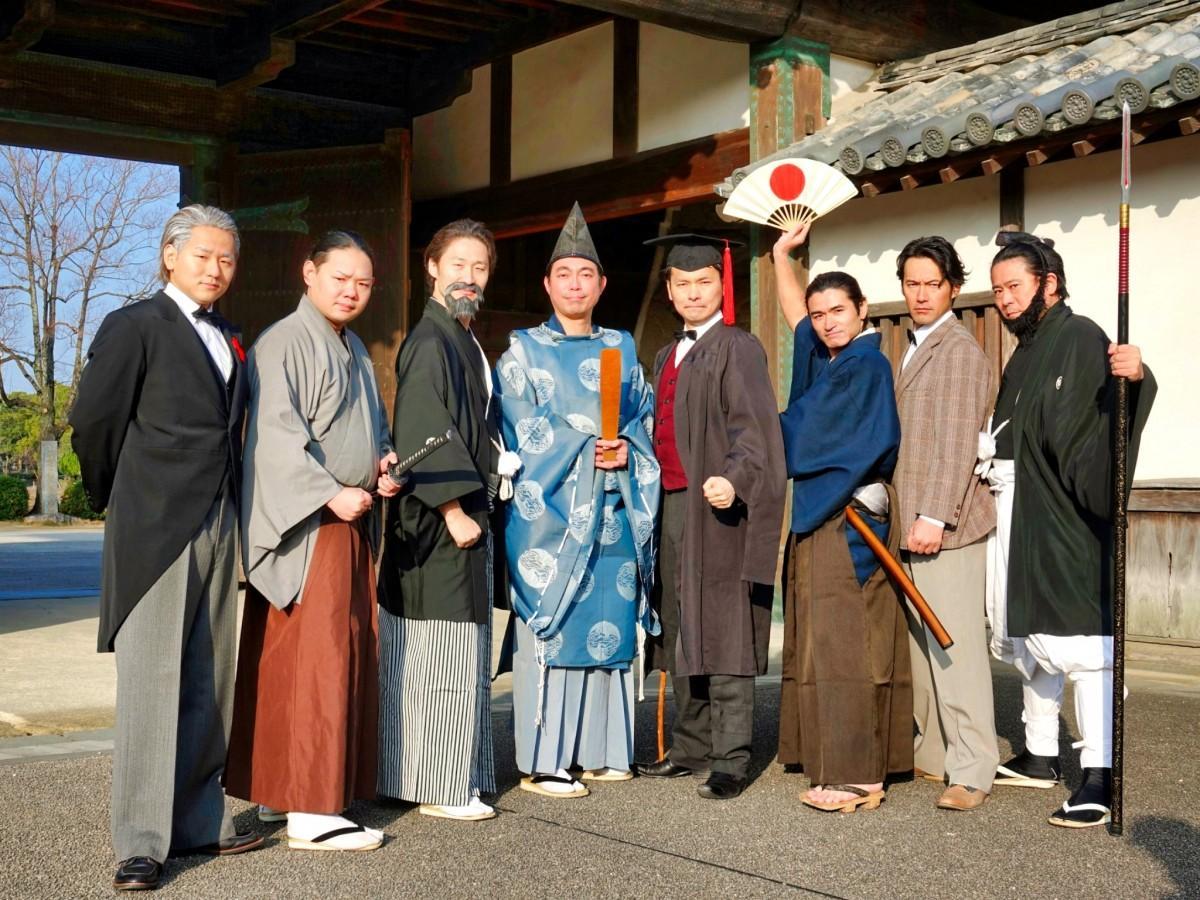 「幕末・維新 佐賀の八賢人おもてなし隊」のメンバー