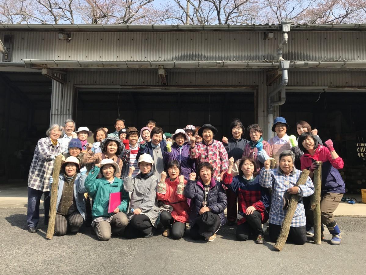 佐賀市婦人林業協議会メンバー