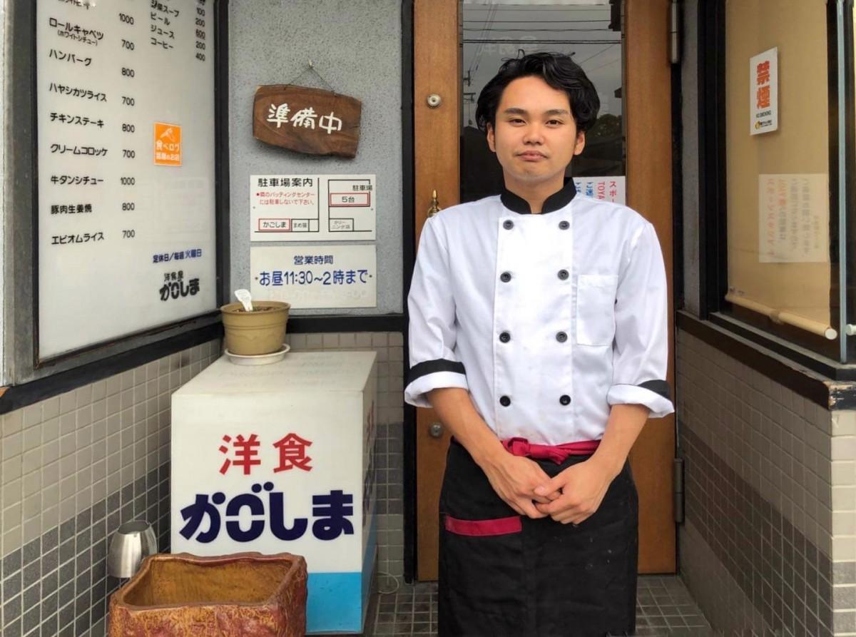 「かごしま」新店主の波多江(はたえ)圭亮さん