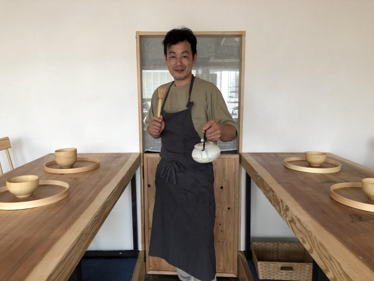 「Restaurant 5」店主の橘兆堂さん