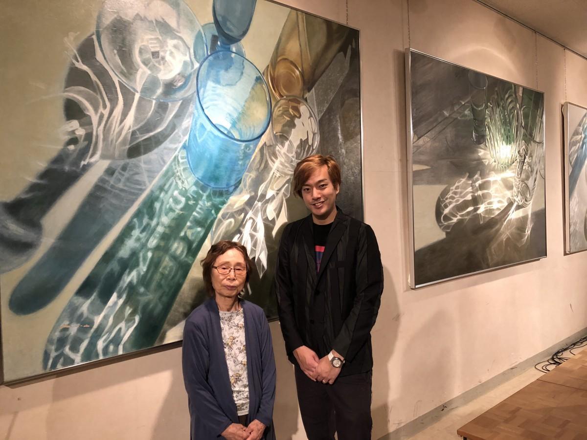 森弘江さん(左)と山口賢人さん(右)