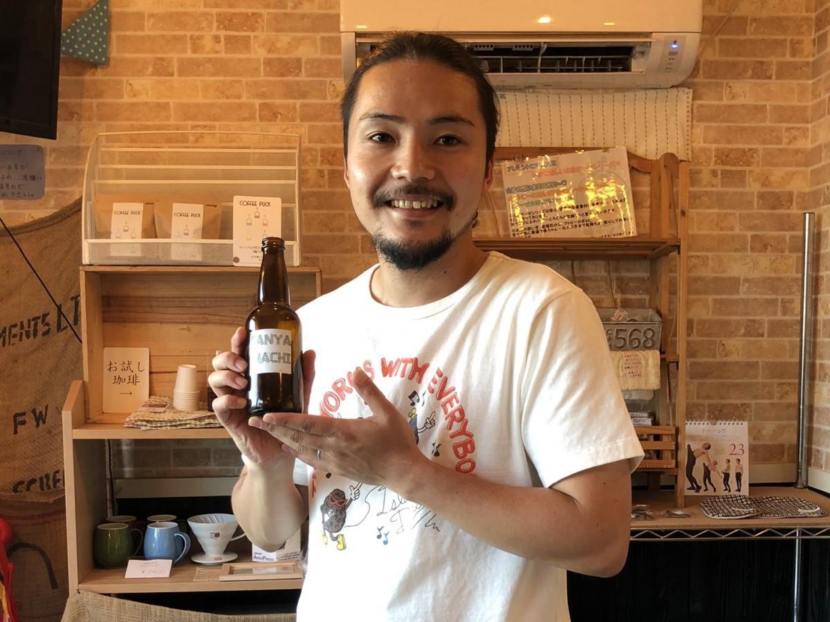 「cafeみちくさ」の古川幸平社長