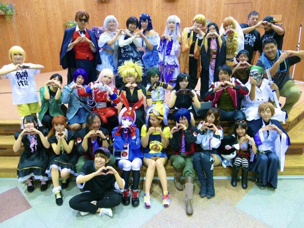 9月18日に開催された「ぽぷふり」での集合写真(公式ツイッターより)