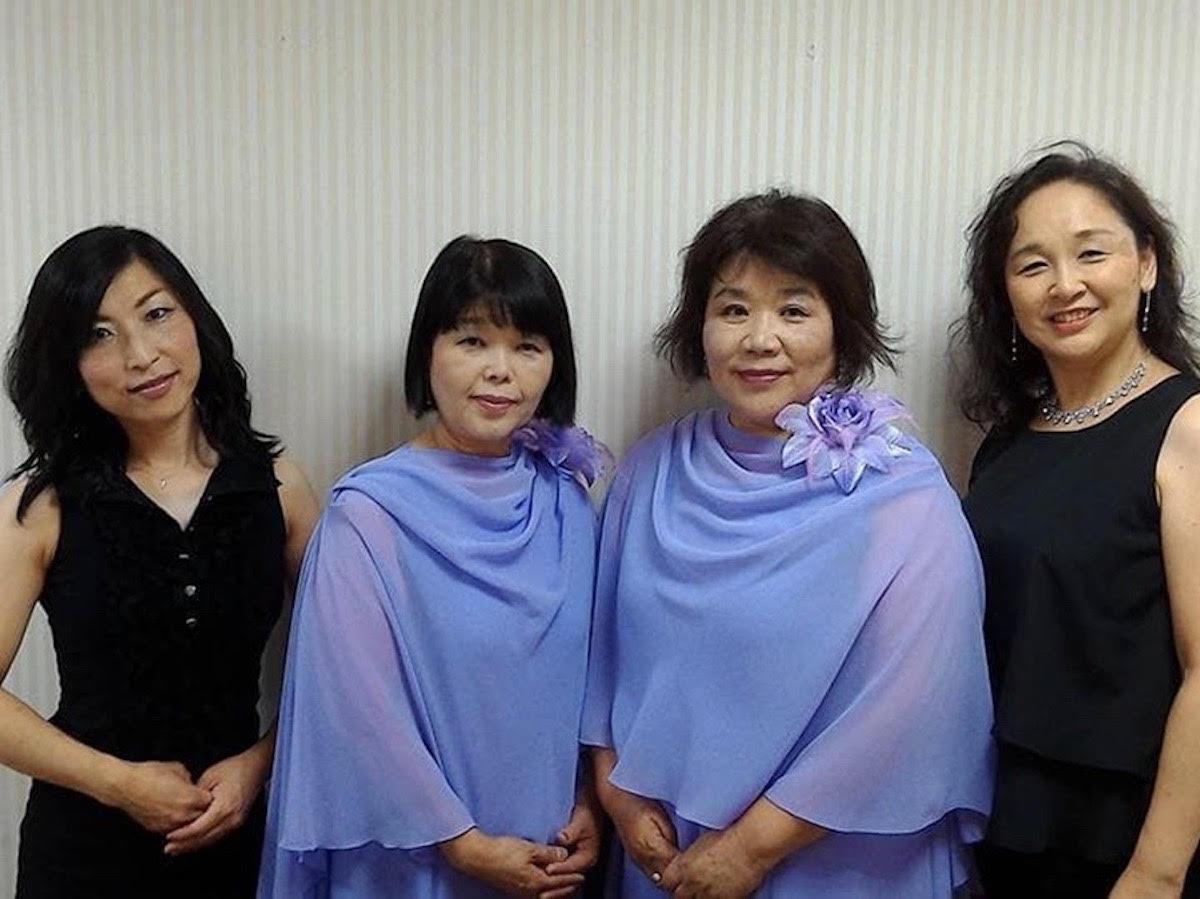 (左から)「Tutti」の宮地真美さん、牛島美恵子さん、円城寺信子さん、権藤由美子さん