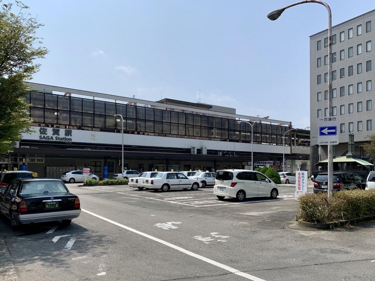 9月23日から再整備工事が始まる佐賀駅北口広場