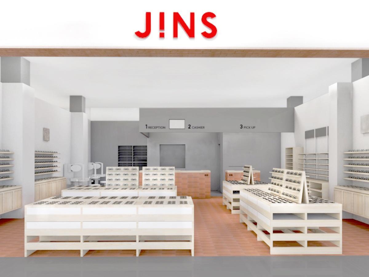 「JINSゆめタウン佐賀店」の店内イメージ