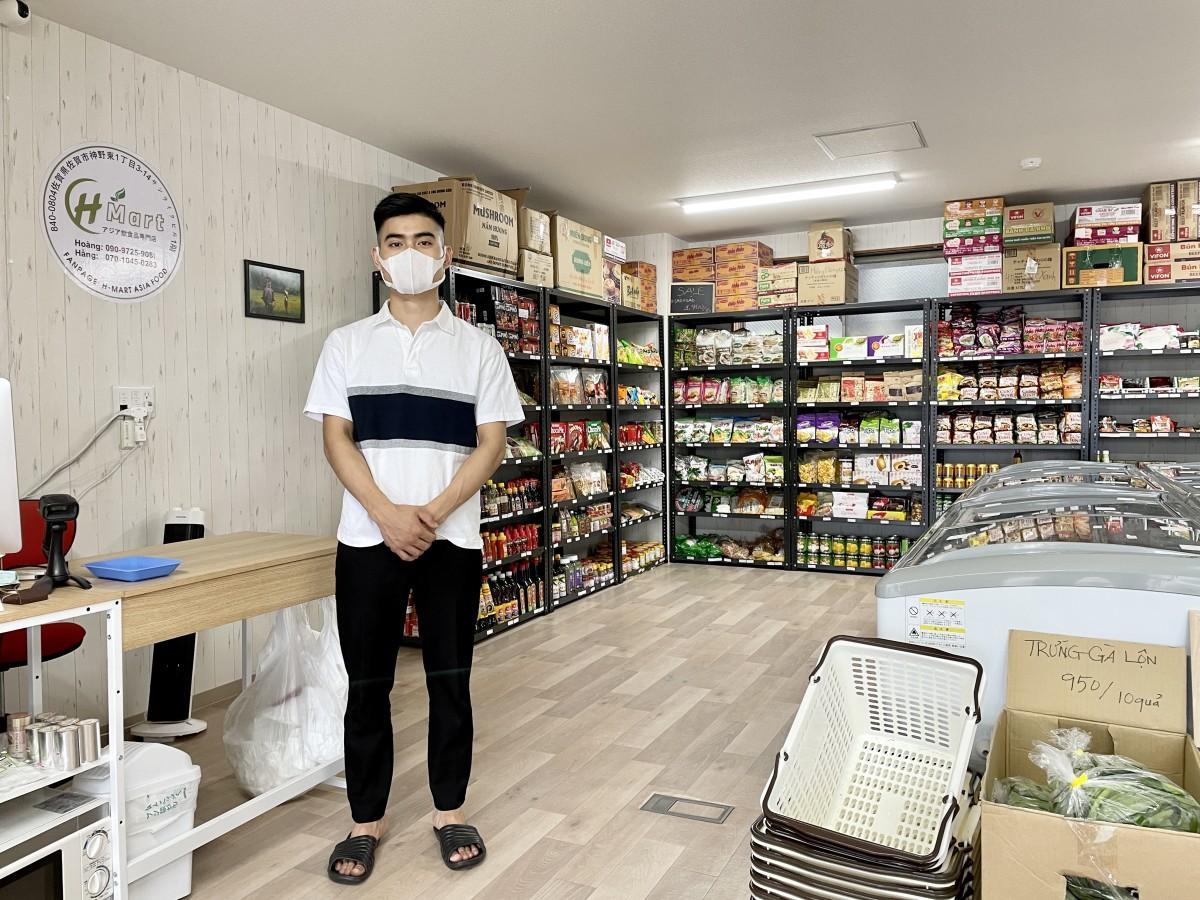 アジア食材品専門店「H-MART ASIAFOOD」社長のチャン・ヴィエト・ホアンさん