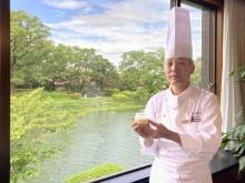 ホテルニューオータニ佐賀内レストランが新作プリン 県産卵、牛乳、うれしの粉茶使用