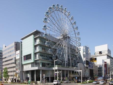 6月6日にニューアルオープンする「サンシャイン栄」の外観。
