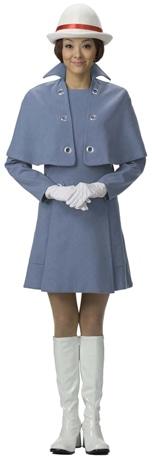 1972(昭和47)年の松坂屋エレベーターガールの制服