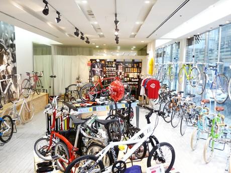 名古屋パルコの限定ショップ「カミハギサイクル」