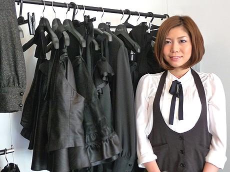 ブランドの運営やデザインを行う山本友美さん