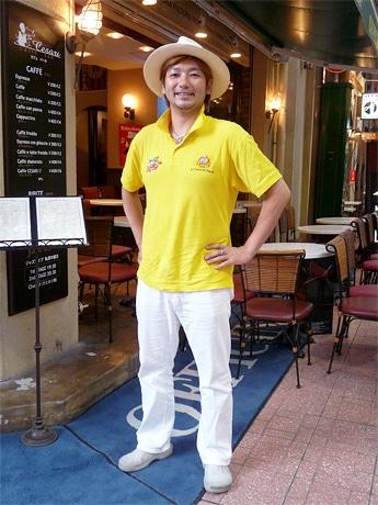「ナポリピッツァ料理人世界選手権」で優勝した牧島昭成さん