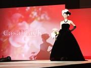 ブライダルフェアで「ブラックドレス」ファッションショー、栄の専門店が出展
