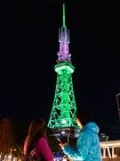 名古屋テレビ塔、デザイン賞受賞-感謝のメッセージをLEDで発信