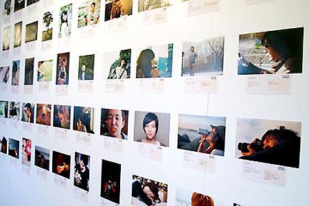 全会場で展開する「恋人写真」写真展の展示イメージ
