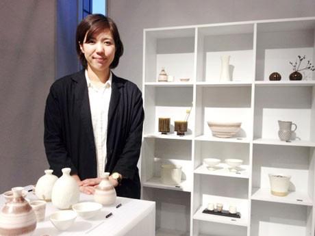陶芸家の桑田智香子さん