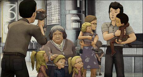 「花開くコリア・アニメーション2014」で上映される「はちみつ色のユン」 (C)Mosaique Films - Artemis Productions - Panda Media - Nadasdy Film - France 3 Cinema - 2012