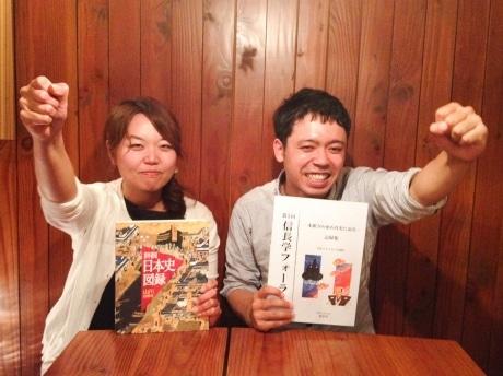 (左から)主催の北村さん、小林さん