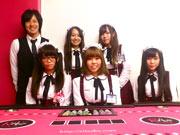 栄に名古屋初のカジノ風メードカフェ―初心者歓迎、ポーカーやルーレットも
