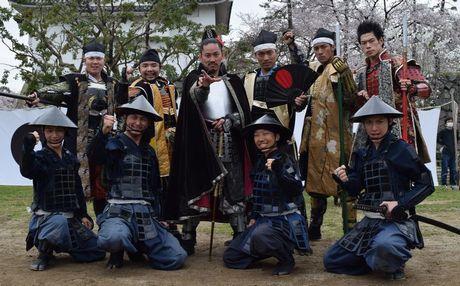 新メンバーのお披露目式を行った名古屋おもてなし武将隊
