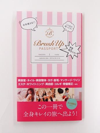 「ブラッシュアップパスポート」の表紙