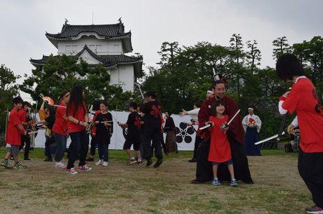 名古屋おもてなし武将隊のイベント「絆 夏の陣」