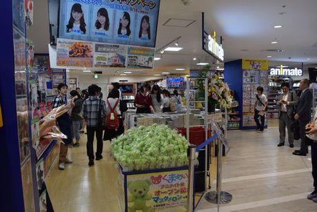 名古屋パルコ東館4階にオープンした「アニメイト栄」