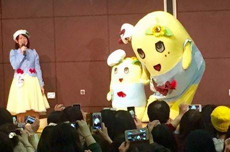 名古屋パルコで開催された「ふなっしートークショー」