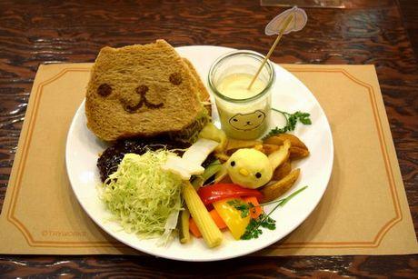 ミドリノ草原みんなでサンドイッチセット~名古屋名物味噌カツサンド~