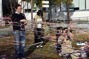「あいちトリエンナーレ」出展作家ジョアン・モデさん来名 名古屋ほかリサーチ