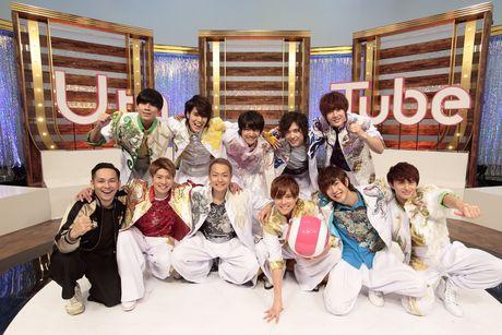 「Uta-Tube」初の生放送「BOYS AND MEN ~祝☆初武道館!リハ初日から密着しましたSP~」に出演したBOYS AND MEN