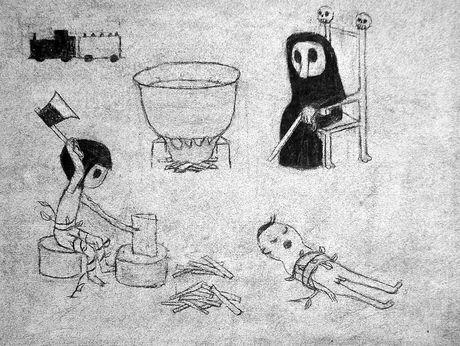 辻直之さんのアニメーション作品「影の子供」