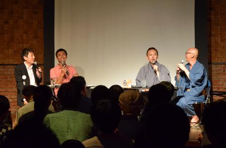TOKUZOで開催された「大竹敏之トークライブ~魅力のない街No.1なごや、ホントに思ってる?~」