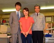 NHK名古屋制作ドラマ「マチ工場のオンナ」概要発表 内山理名さんら会見