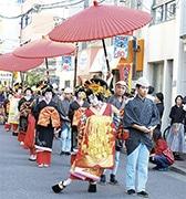 大須で「大須大道町人祭」 新企画「ええじゃないかパレード」で町人・芸人が盛り上げ