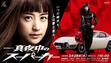 「NHK名古屋放送局」制作の愛知県発地域ドラマ「真夜中のスーパーカー」
