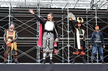 「名古屋おもてなし武将隊八周年祭」トークステージ