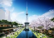 久屋大通公園北エリアの再整備計画案が決定 テレビ塔南側に水盤も