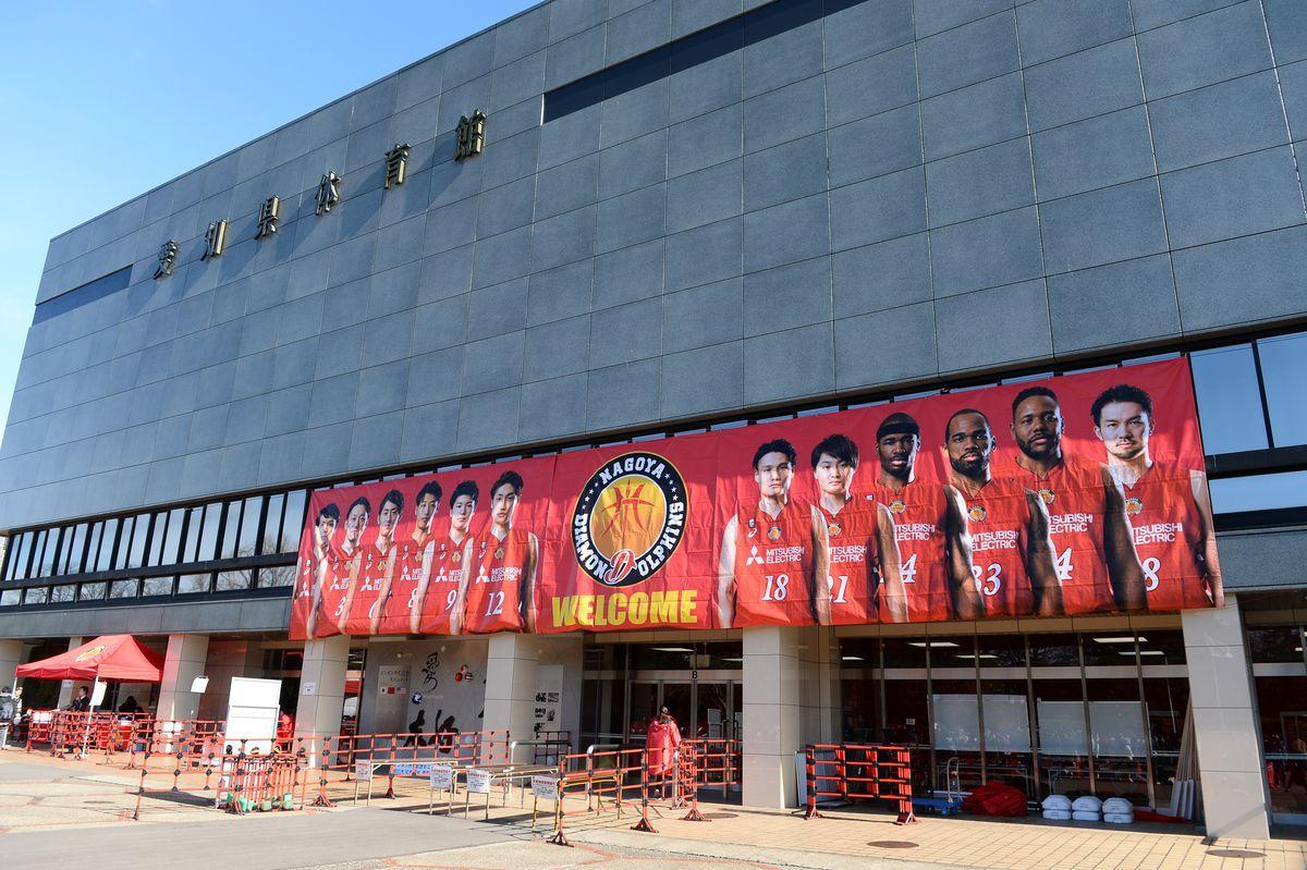 愛知県体育館の愛称が「ドルフィンズアリーナ」に決定(写真提供:名古屋D)