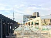 栄の中日ビル屋上で「やっとかめ文化祭」フィナーレ 立ち飲みバーやワークショップも