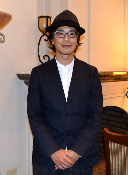来名した岸田繁さん。愛知県芸術劇場コンサートホールで京都市交響楽団が「交響曲第二番」を演奏
