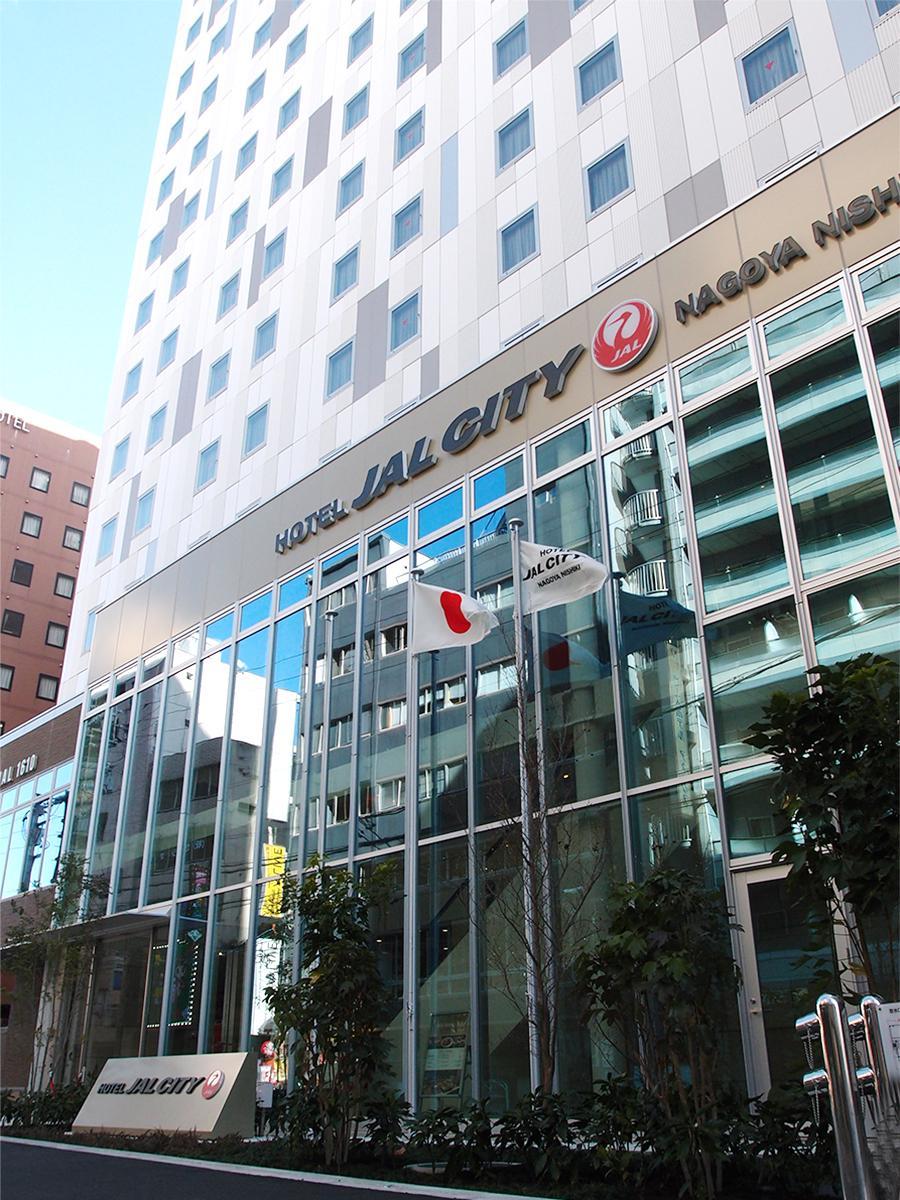 1月18日に」開業した「ホテルJALシティ名古屋 錦」外観