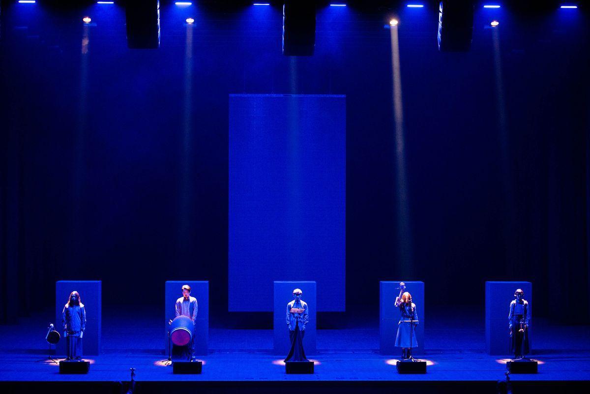 サカナクションが愛知県芸術劇場大ホールでライブパフォーマンス「暗闇-KURAYAMI-」を上演 (C)後藤武浩、髙木美佑