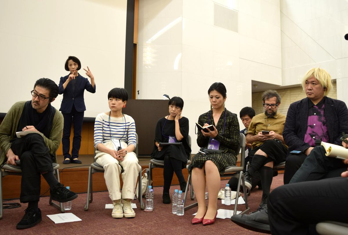 愛知芸術文化センターで開催された あいちトリエンナーレ2019国際フォーラム「『情の時代』における表現の自由と芸術」