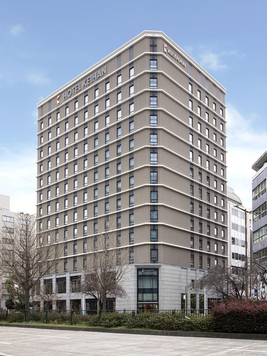 久屋大通駅近く、桜通り沿いに開業した「ホテル京阪 名古屋」外観(画像提供=ホテル京阪)