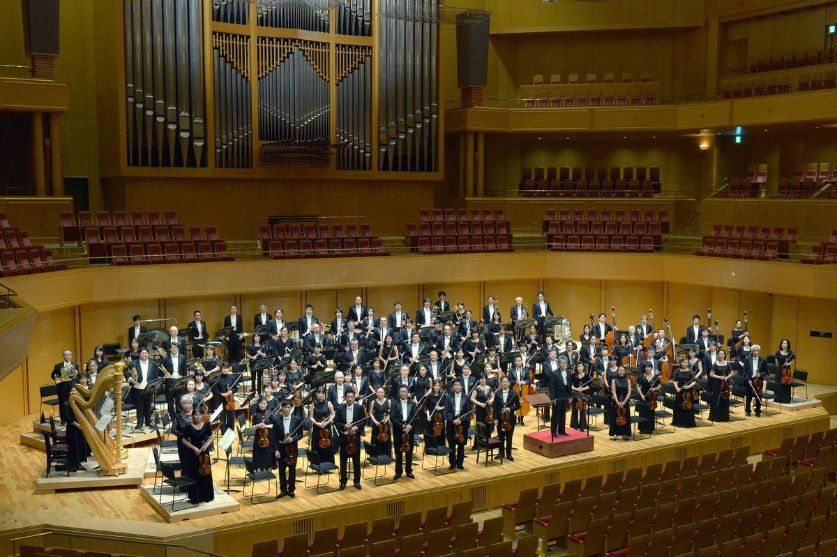無観客コンサートをライブ配信する名古屋フィルハーモニー交響楽団